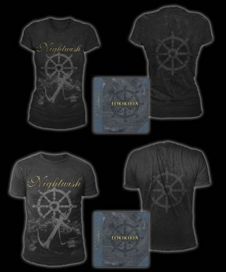 Nightwish Lokikirja 8CD Box + T-Shirt (exclusive)