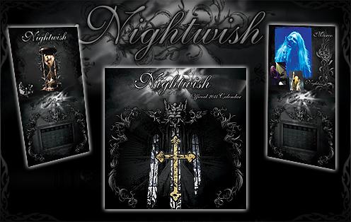 Nightwish 公式カレンダー 2011
