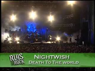 "Nightwish ""Dead To The World"" at Ruisrock 2008"