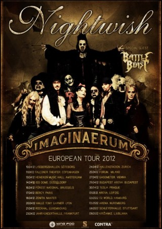 Imaginaerum European tour poster